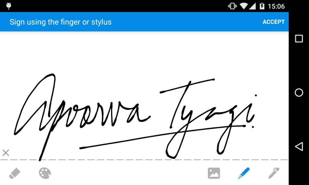 esignature SignEasy Android