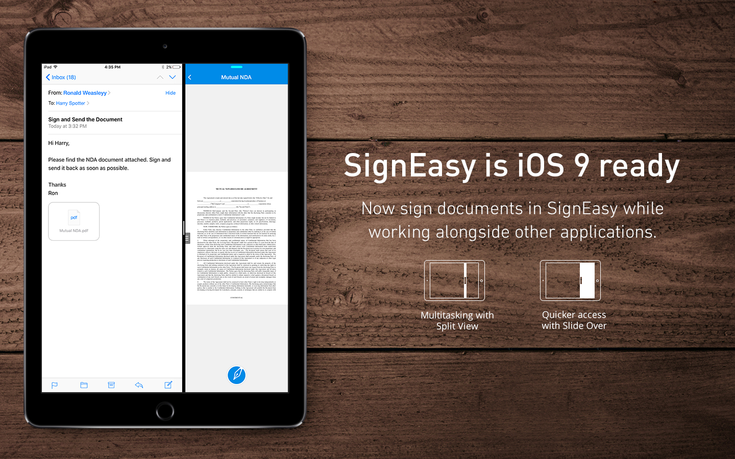 iOS 9 Features that will Redefine your SignEasy Experience